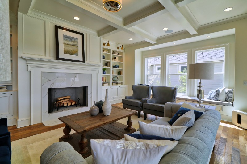 Legacy Homes-PoH-Great Room Fireplace